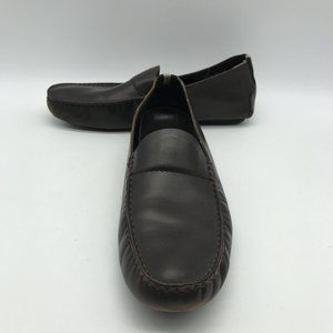 Gucci MEN Brown Leather Loafers 10